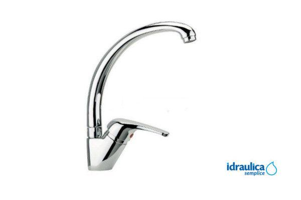 Monocomando per lavello cucina idraulica semplice - Lavello cucina profondita 40 ...