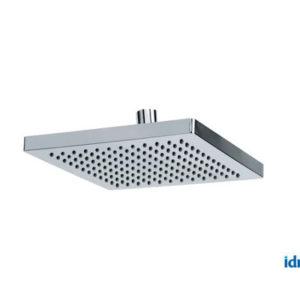 Soffione doccia quadrato 20x20