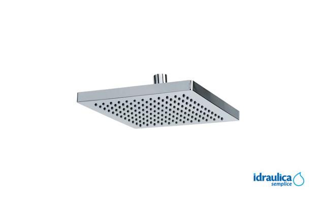 Soffione doccia quadrato 20×20